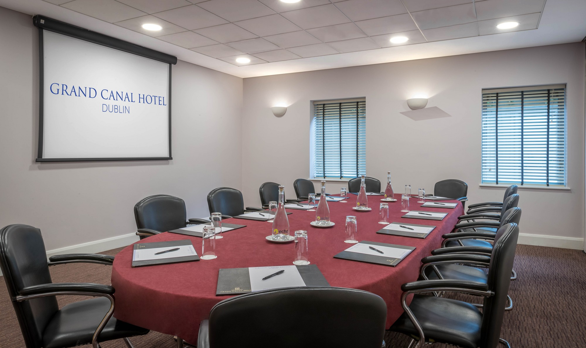 Meeting Rooms Dublin City Centre Grand Canal Hotel