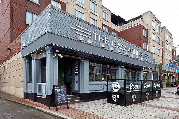 The Gasworks Bar by Galway Bay Brewery