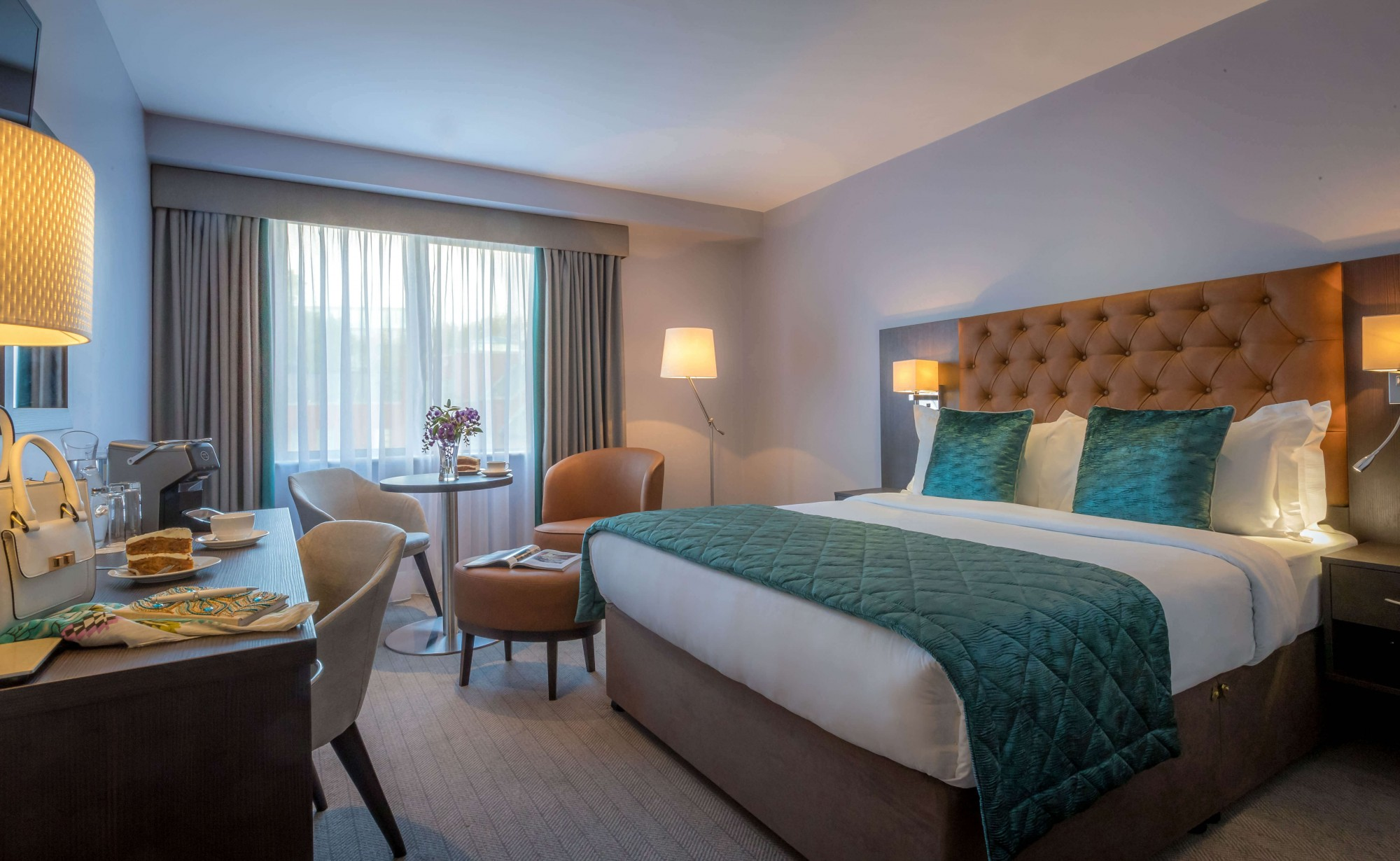 Guest Bedrooms Grand Canal Hotel Dublin City